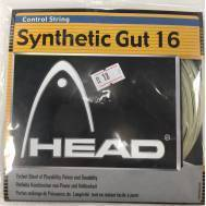 HEAD SYNTHETIC GUT 16G / 1.30mm Tennis String