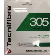 Tecnifibre 305 Green 16 / 1.30mm Squash String Set